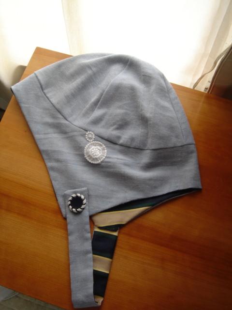 フランス駅員風の帽子