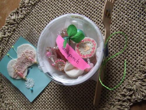 お菓子の包装でプレゼント